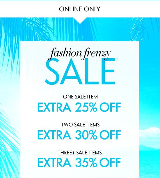 Fashion Frenzy Sale