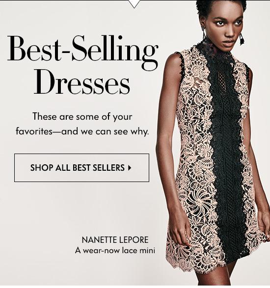 Best Selling Dresses: Nanette Lepore