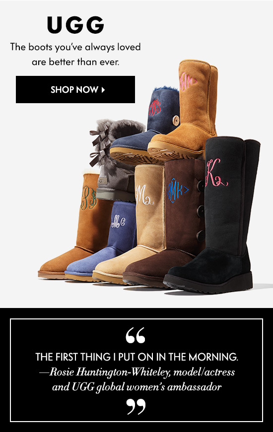 UGG: Better than ever